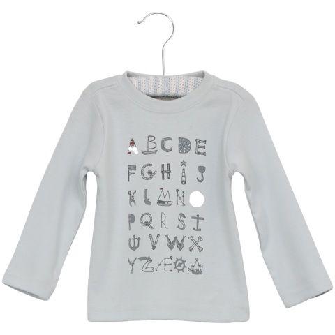 T-Shirt Alphabet LS $12