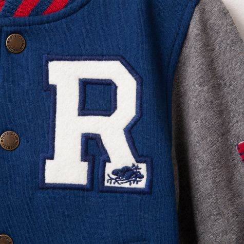 Roots Fleece Varsity Jacket 2