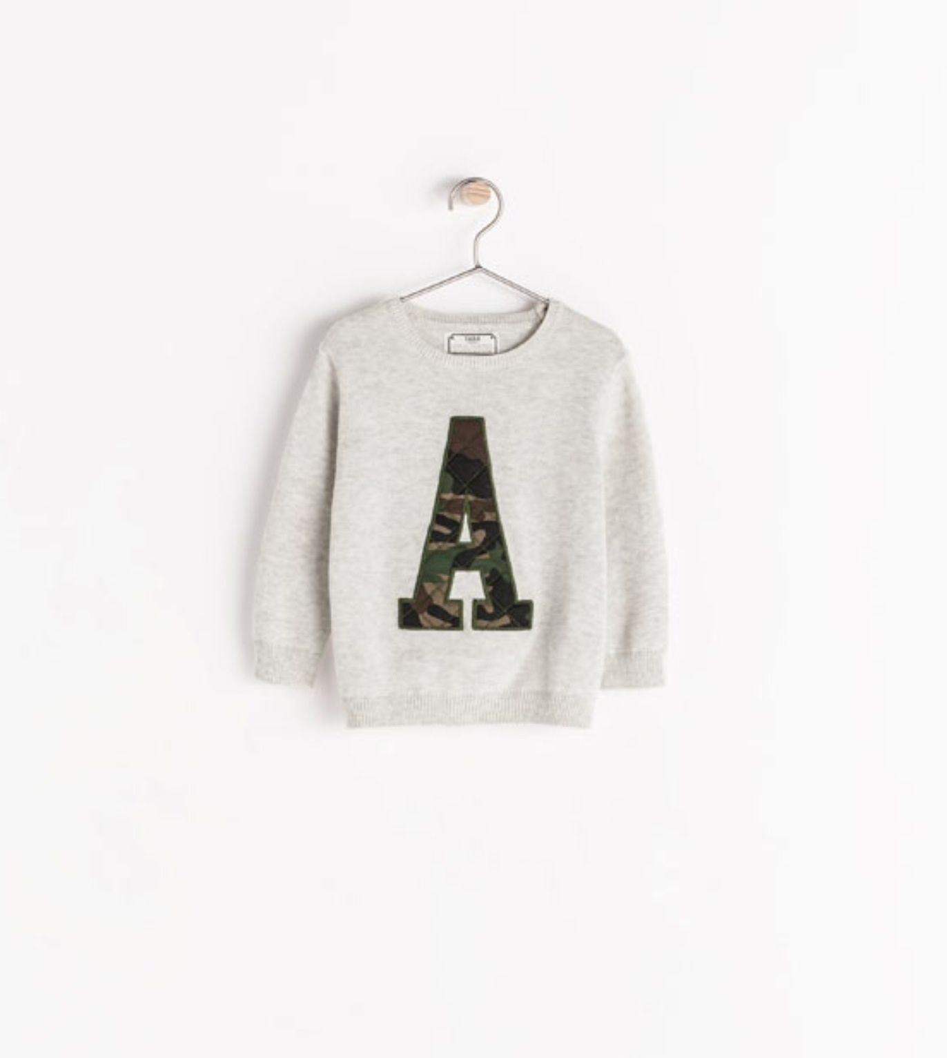 Zara Letter Sweater