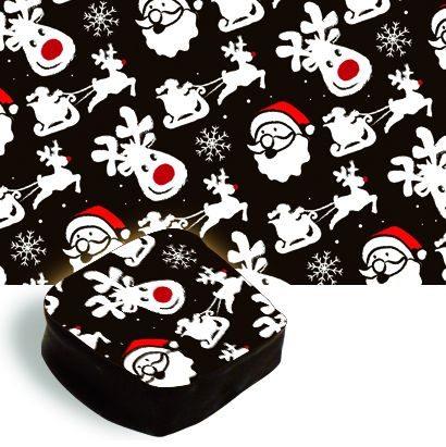 chocolate tales-Santa-and-Reindeer-Transfer-Sheet-sparkleshinylove