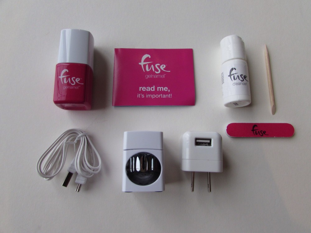 My At Home Gel Manicure With Sensationail Fuse Starter Kit