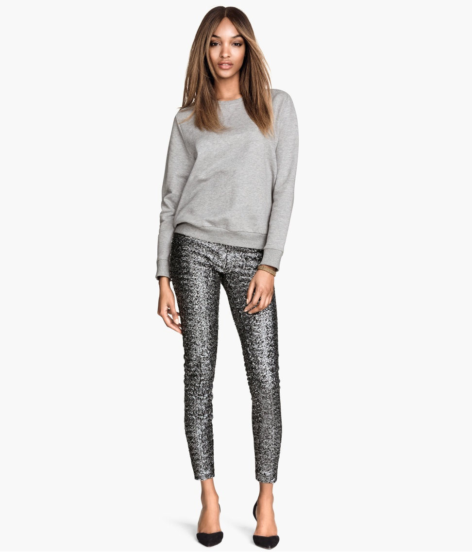 H&M Sequin Pants