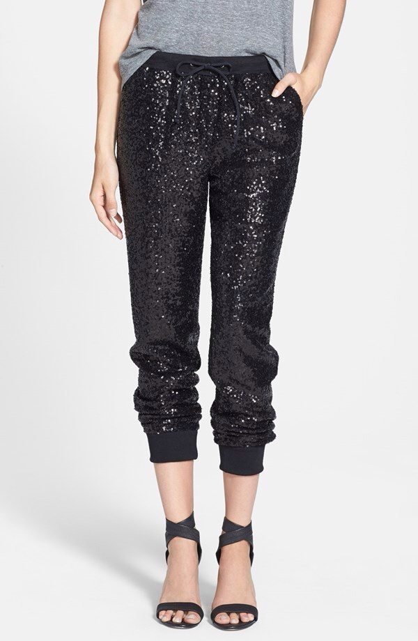 Trouvé Sequin Track Pants