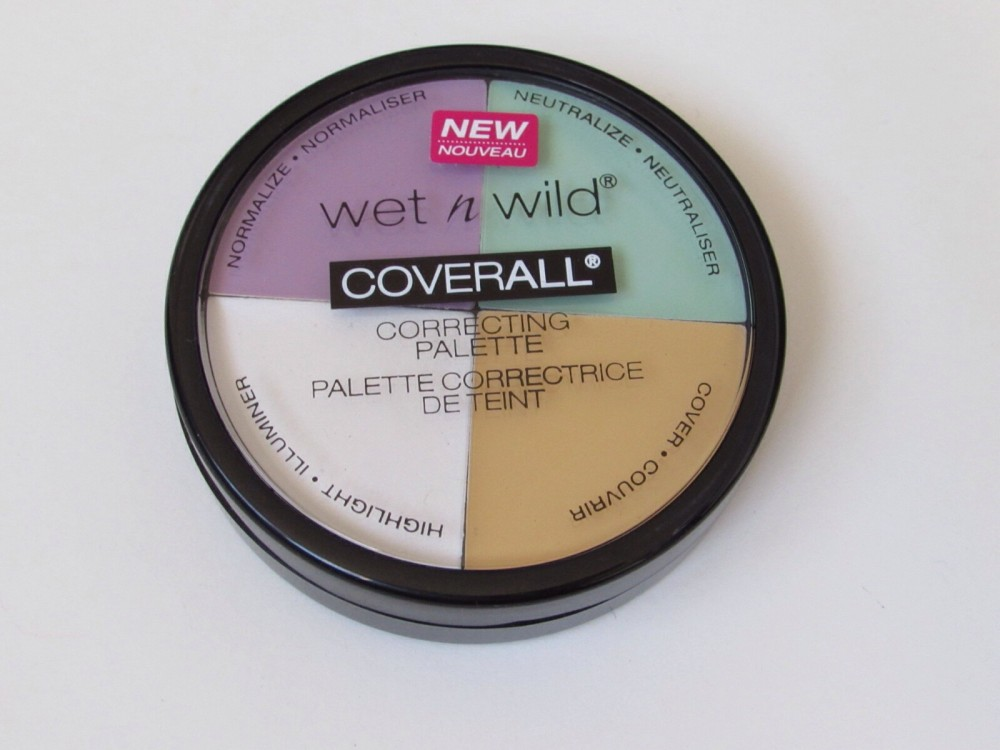 Review of wet n wild's Cover All Correcting Palette
