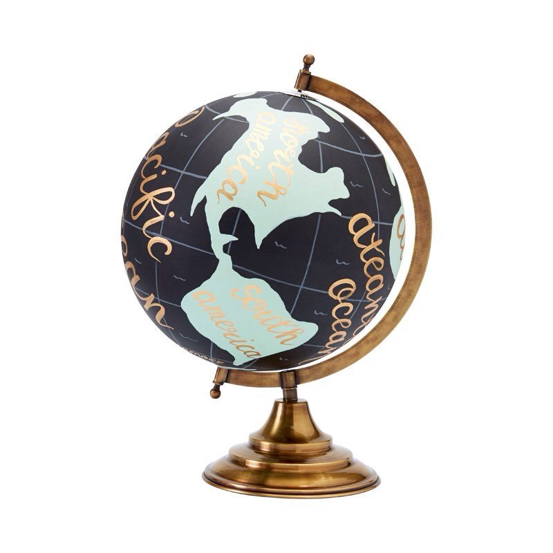 Hand-Painted Globe Chapters