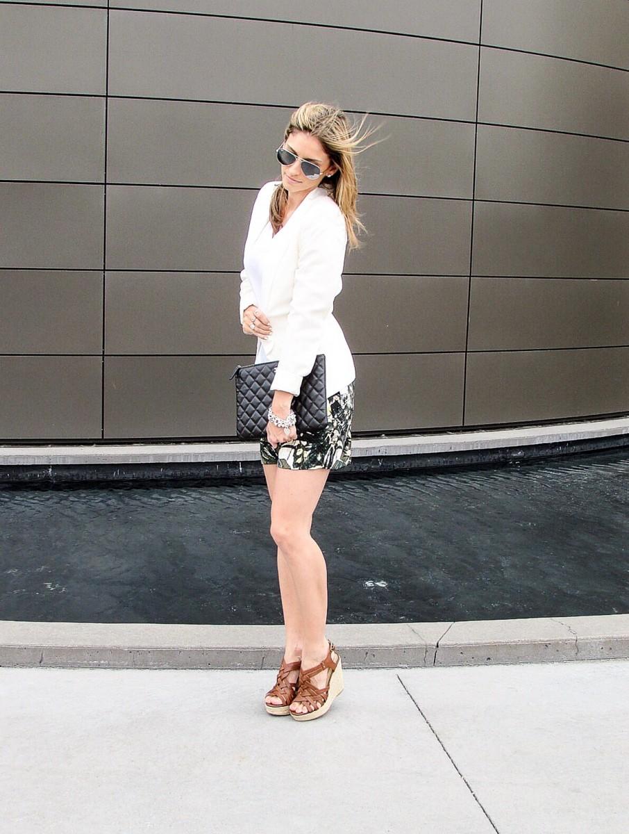 Sparkleshinylove Patterned summer shorts