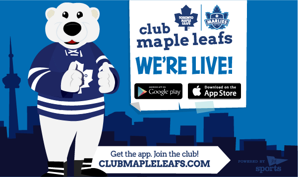 Club Maple Leafs is Live