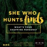 She who hunts finds