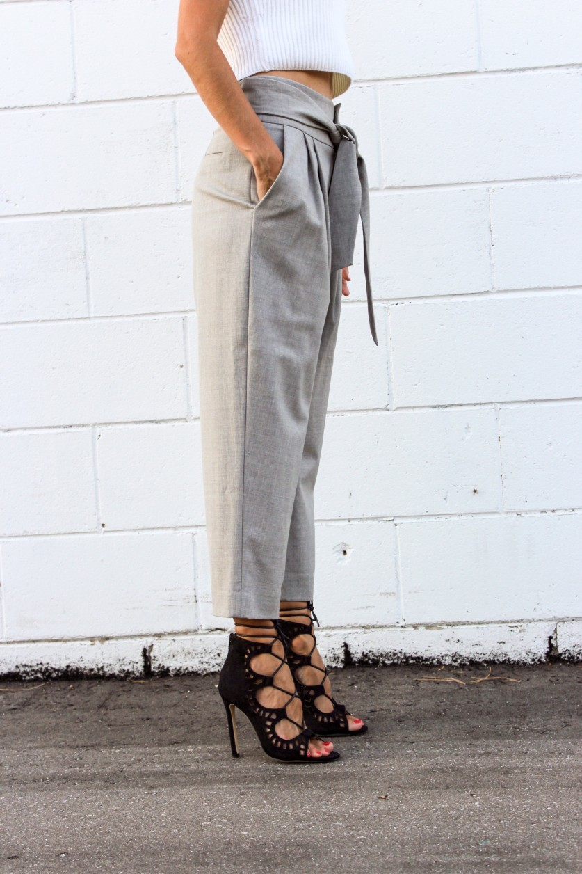 Dressing Like a Grownup with a Cropped Trouser
