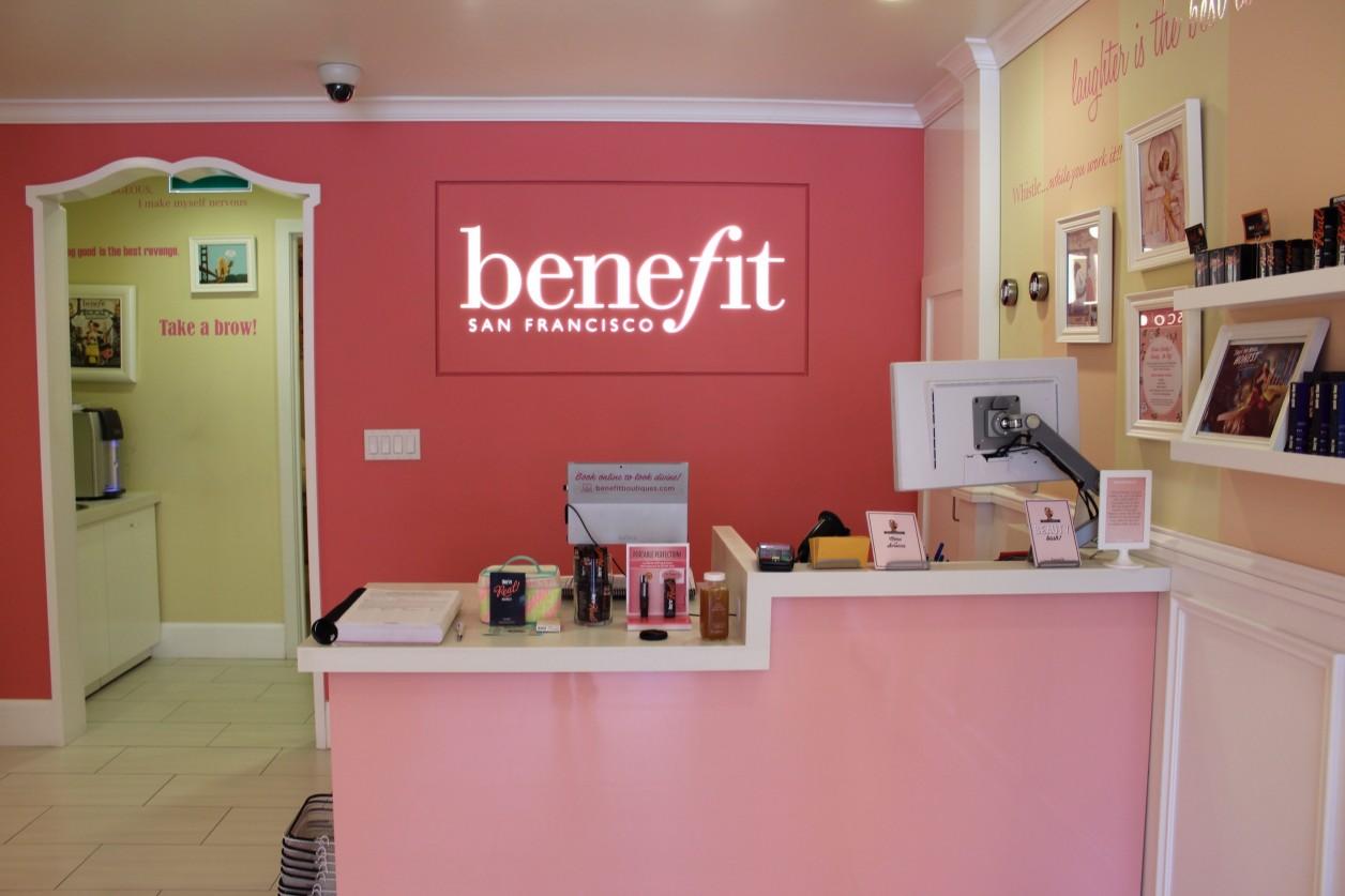 My visit to the Benefit Boutique Toronto sparkleshinylove