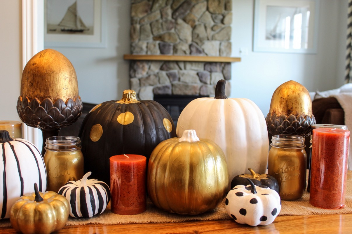 DIY Painted Pumpkins sparkleshinylove