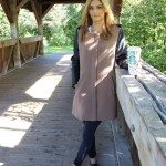 Fall layering with a light jacket sparkleshinylove