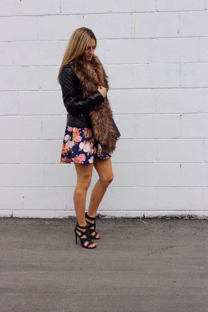 Adding Style with a Fur Collar
