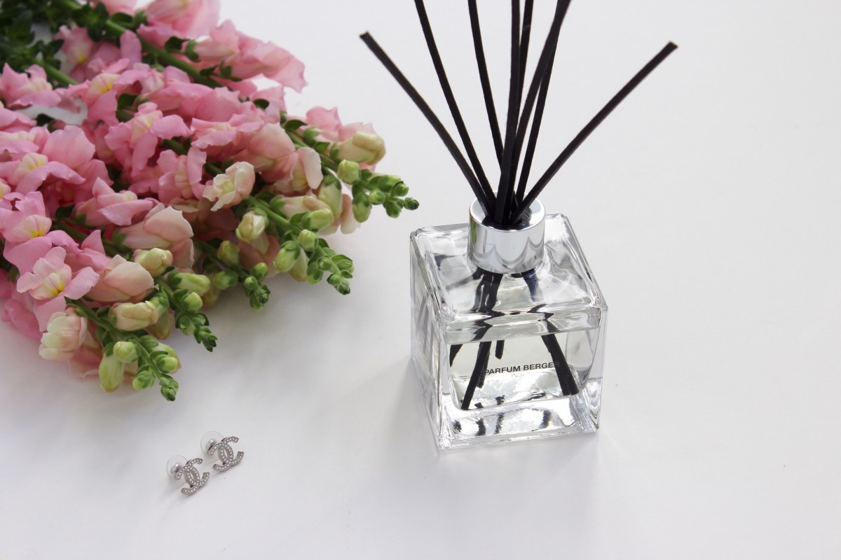 Review of the cube scented bouquet in precious jasmin from for Lampen berger