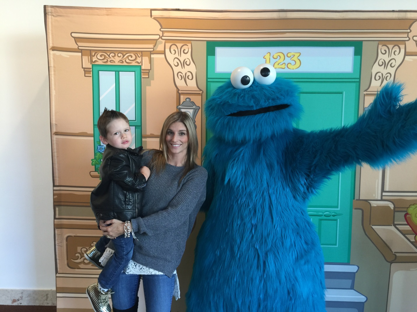 Amex and Sesame Street Live 4