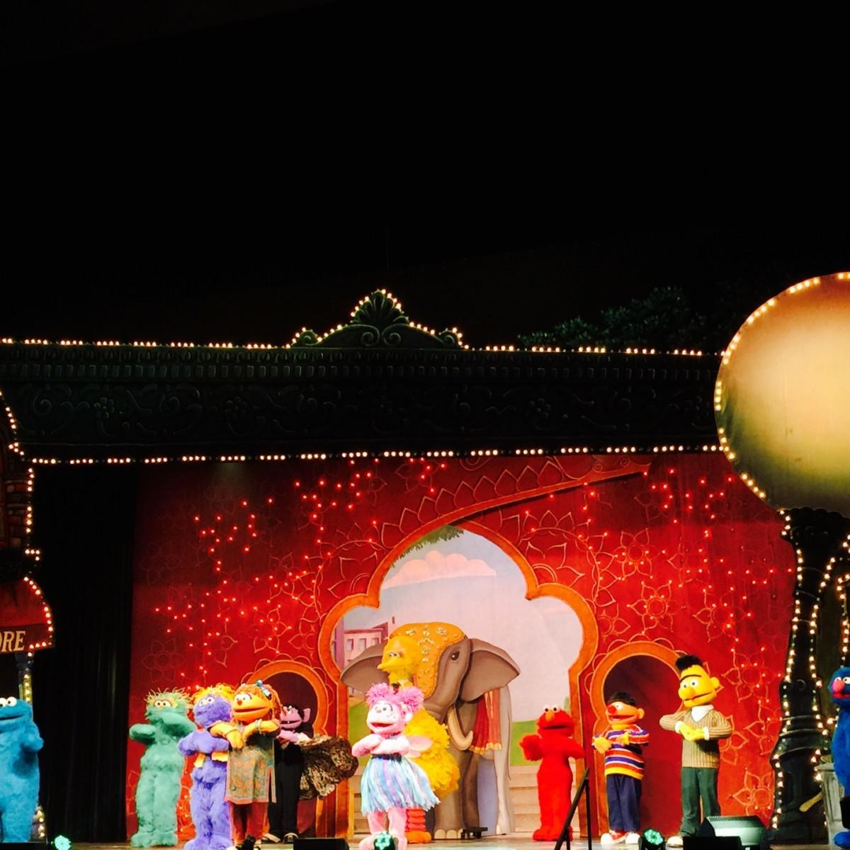 Amex and Sesame Street Live 6