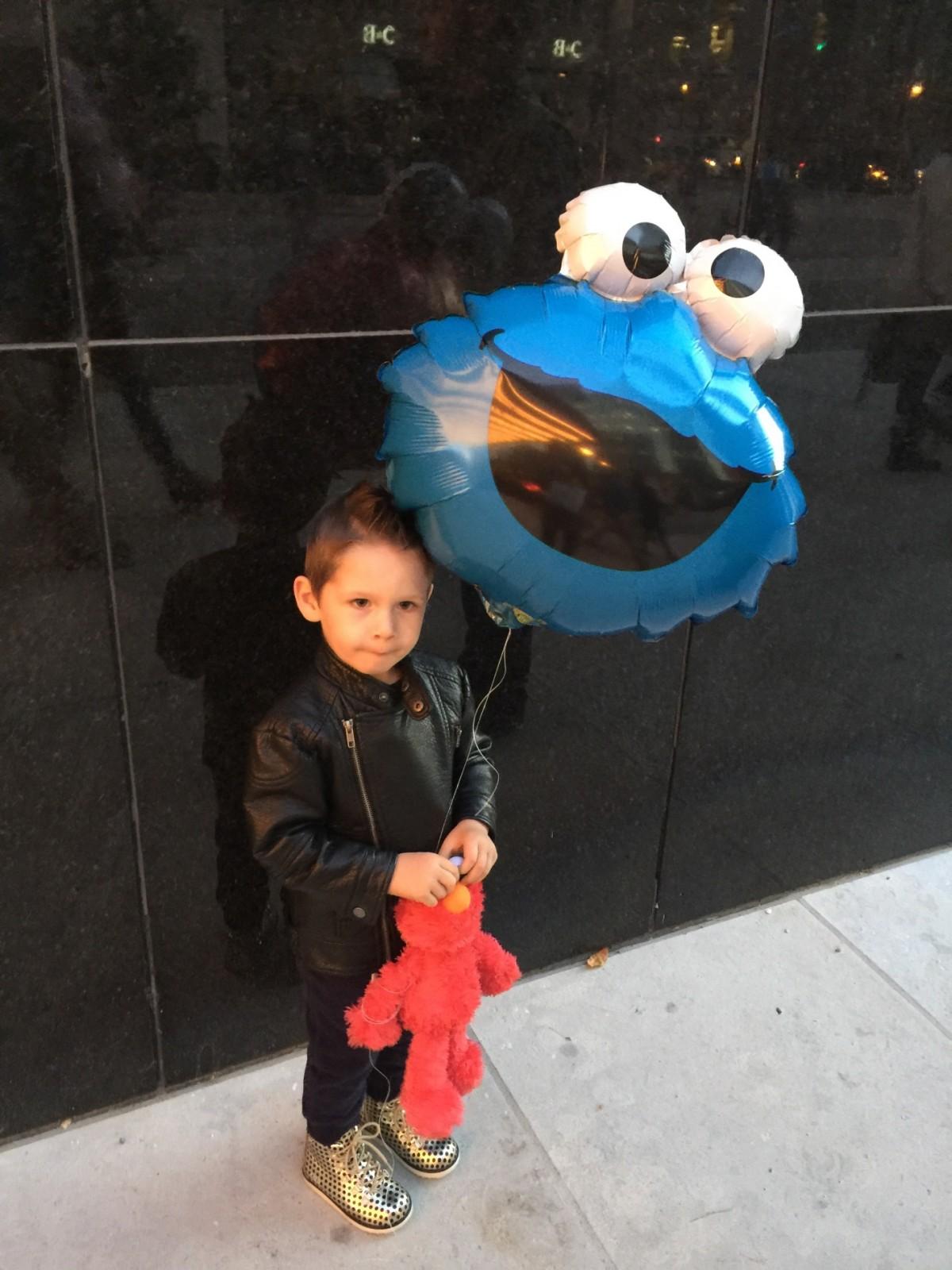 Amex and Sesame Street Live 8