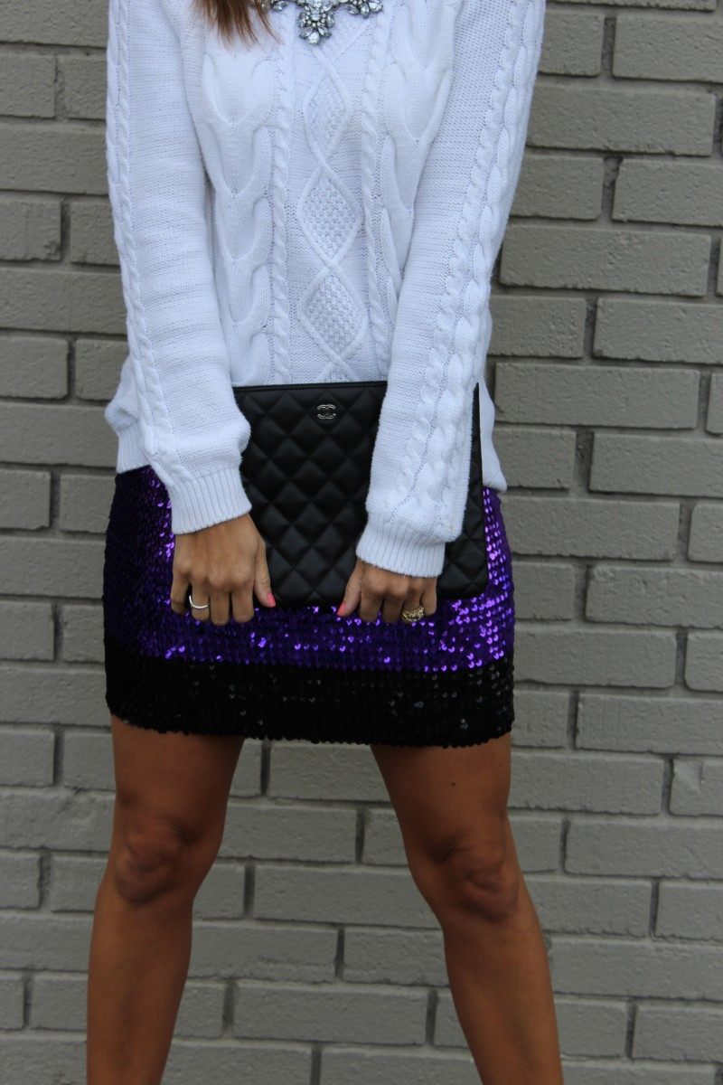 Best Sequinned Holiday Skirts sparkleshinylove