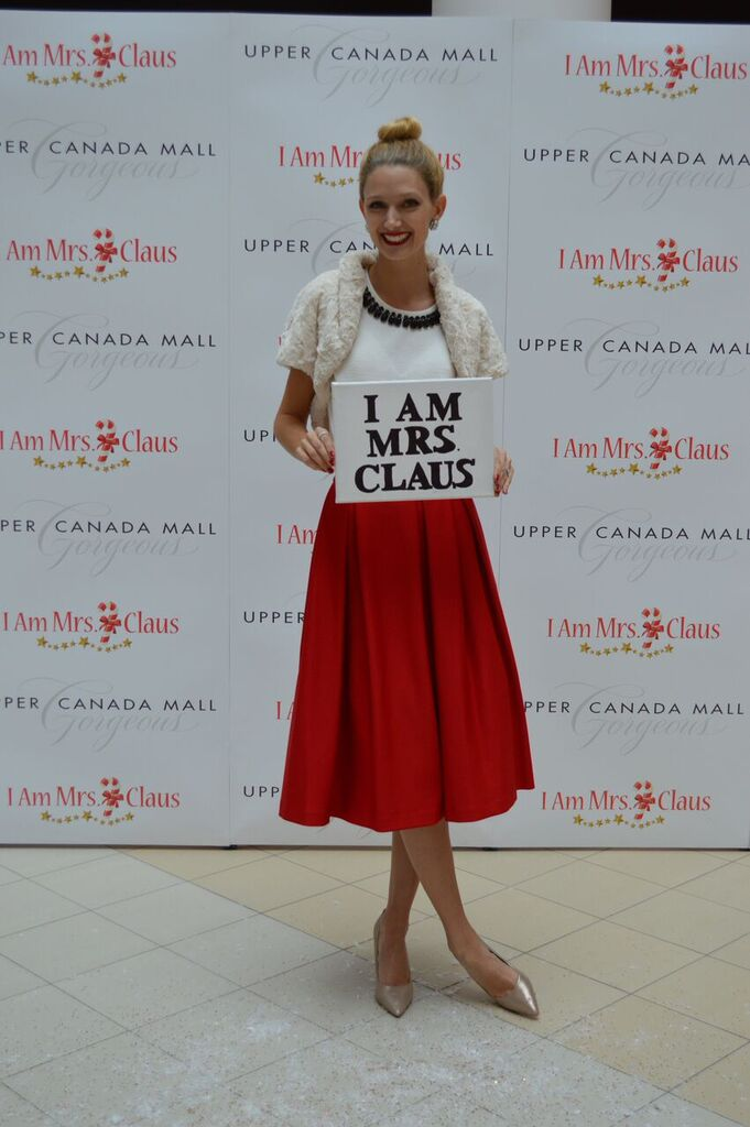 Celebrating the Modern Mrs. Claus with Upper Canada Mall