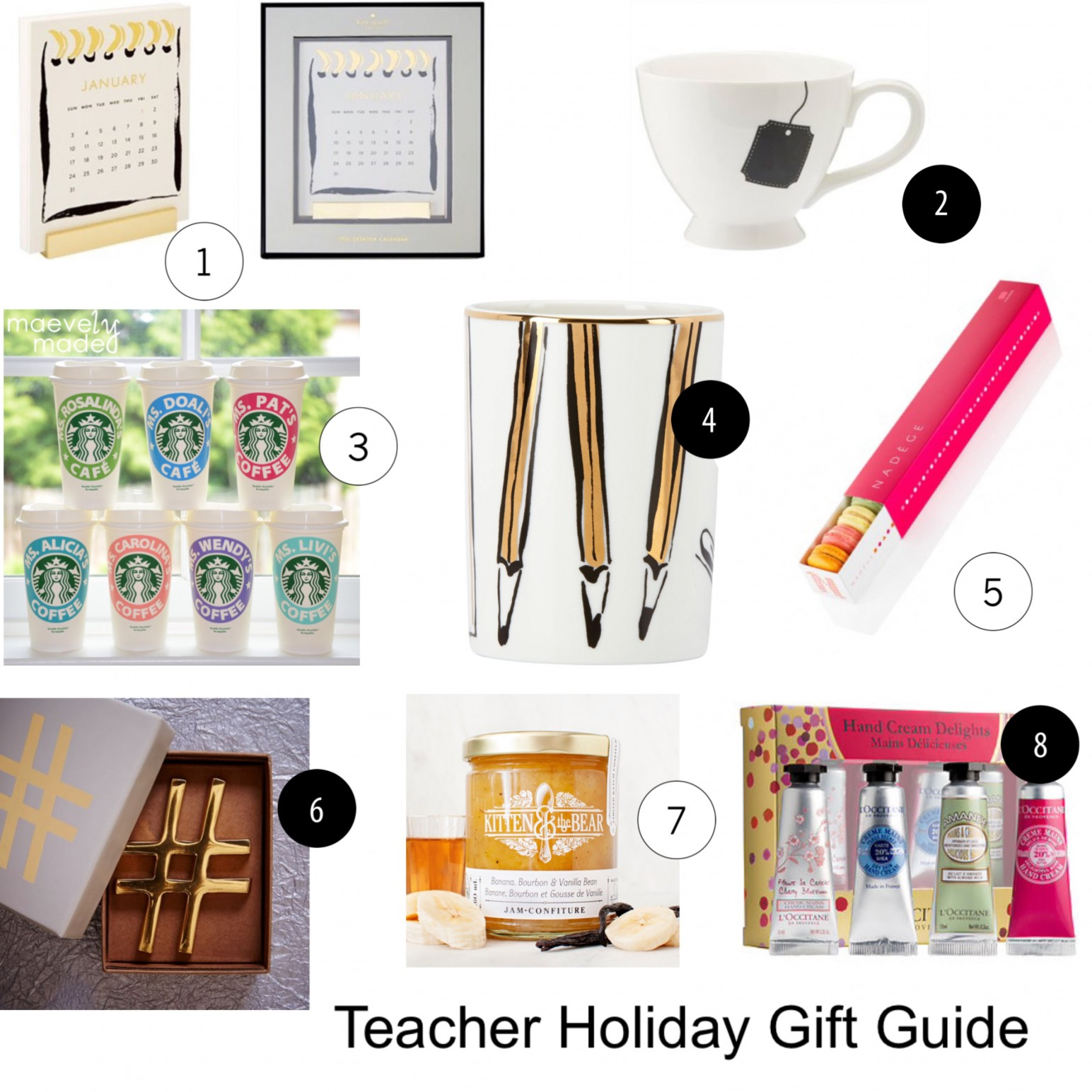 Teacher Holiday Gift Guide for under $30