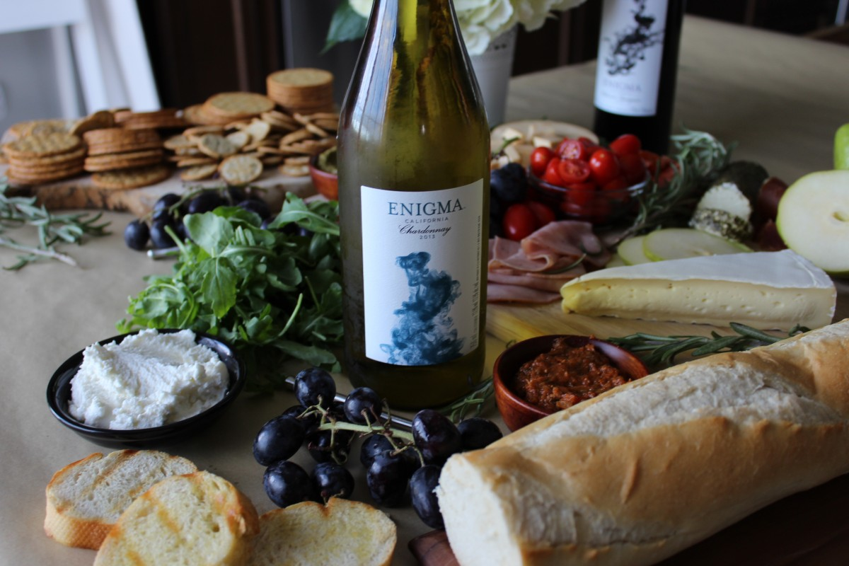 Making the Perfect Cheese Board with Enigma Wines