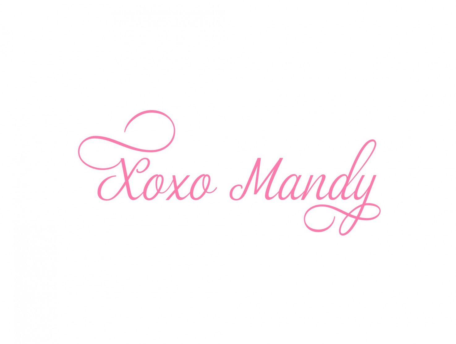 Xoxo Mandy