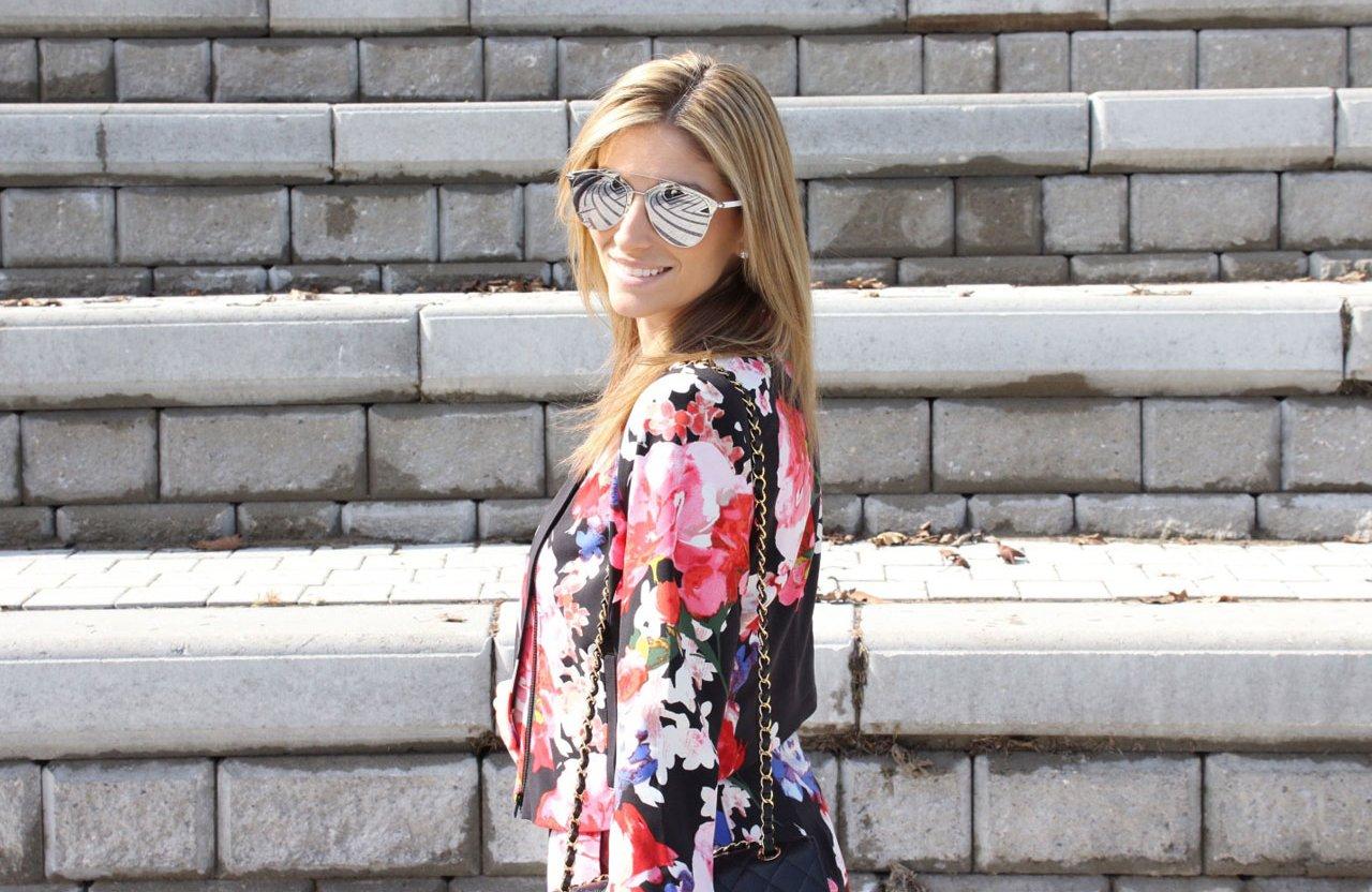 Oshawa Centre Toronto Fashion Week Outfit Mandy Furnis sparkleshinylove