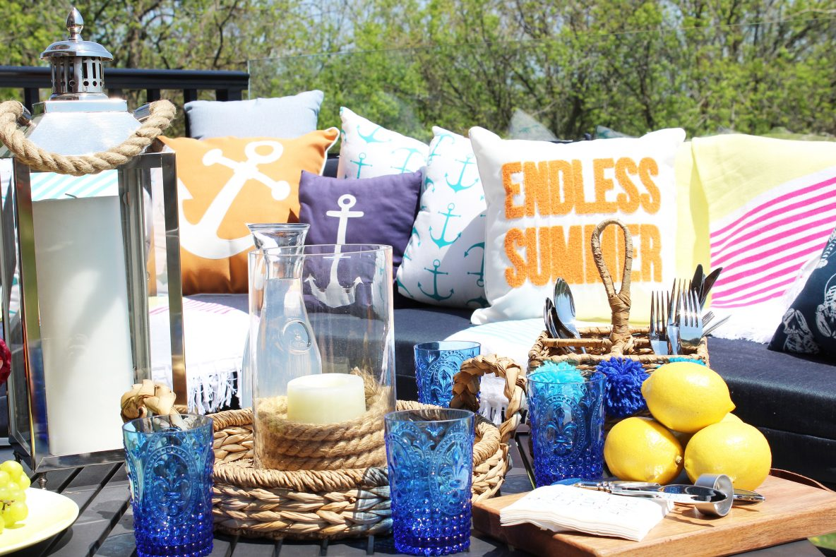 Refreshing My Summer Patio with the Help of Homesense!