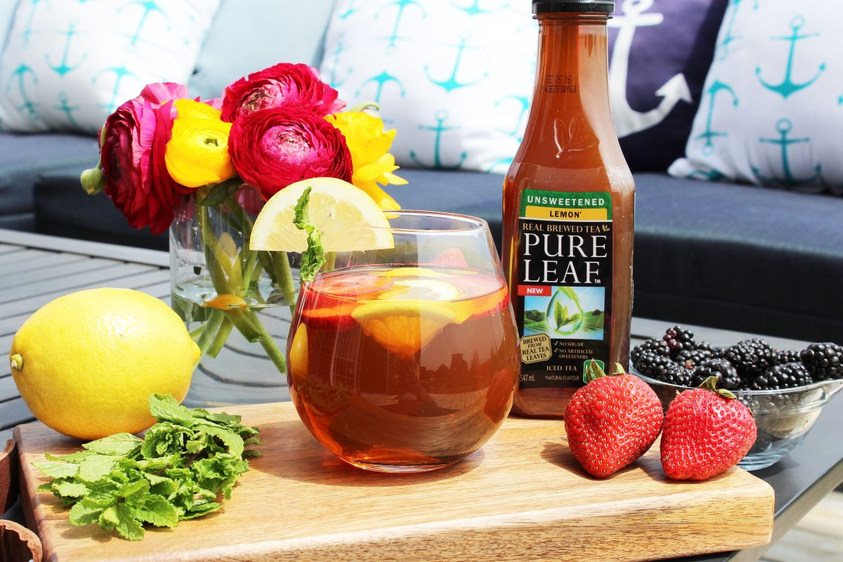 Getting Summer Ready with my Own Pure Leaf Tea Cocktails!