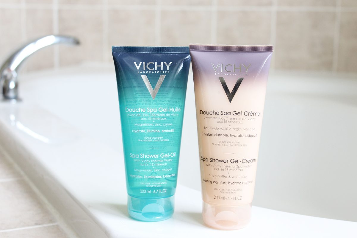 Review of Vichy's Idea Body Spa Shower Gel-Oil and Gel-Cream
