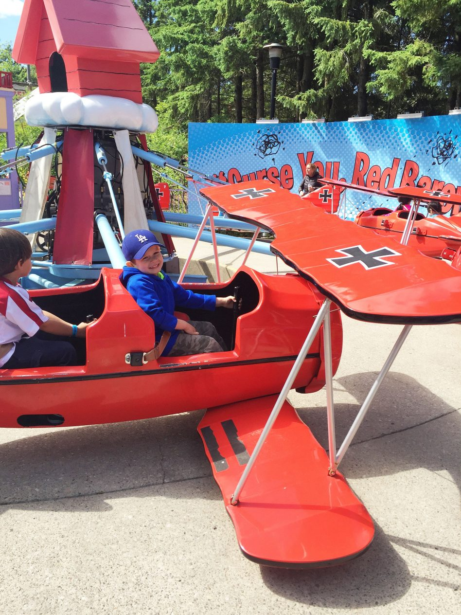 Tips for Spending the Day at Canada's Wonderland with a Toddler