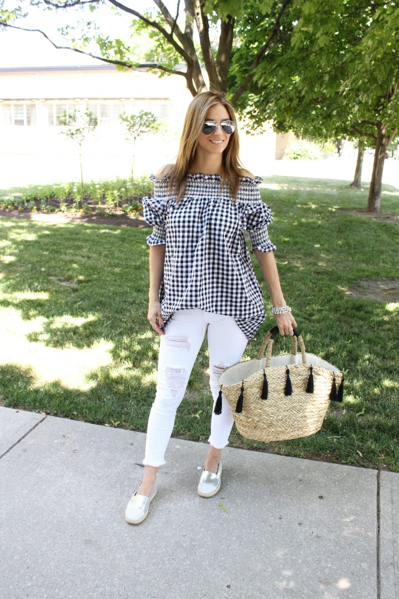 Gingham and Ruffles