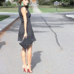 Little Black Scalloped Dress