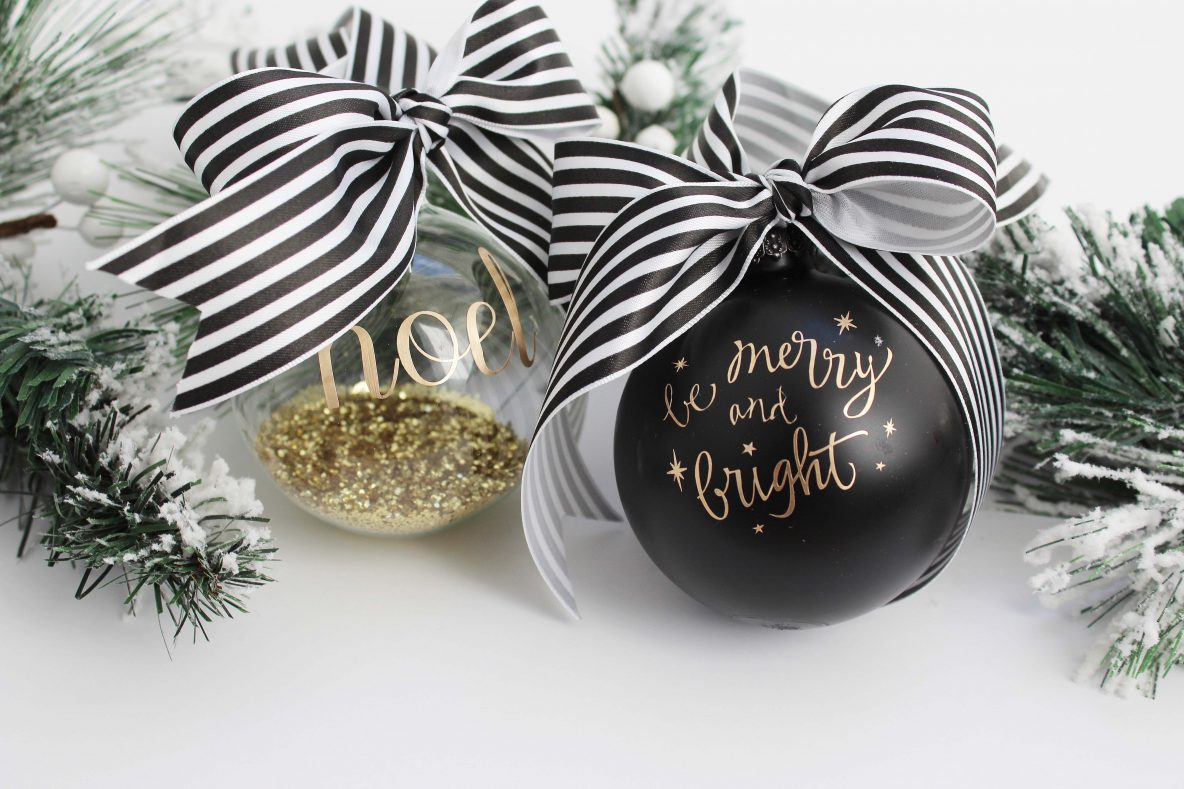 How to Create a Cricut Christmas Ornament