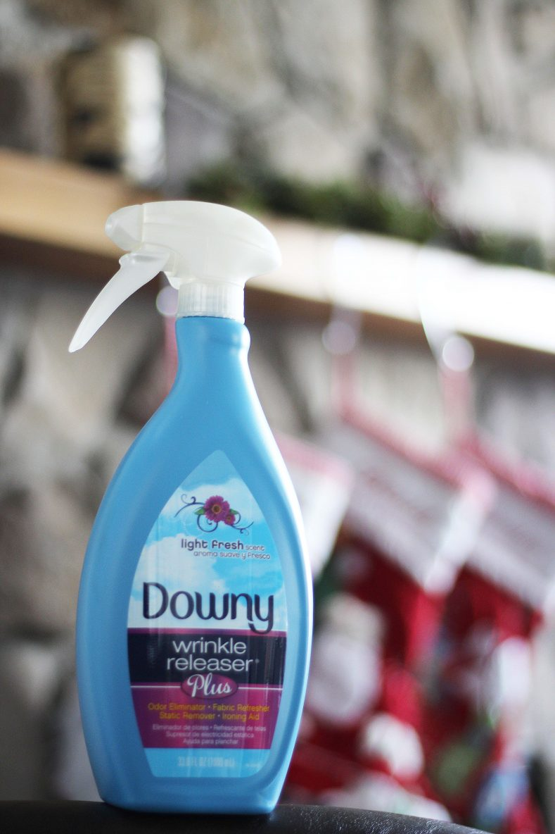 Getting my Home Holiday Ready with Downy Wrinkle Releaser Plus