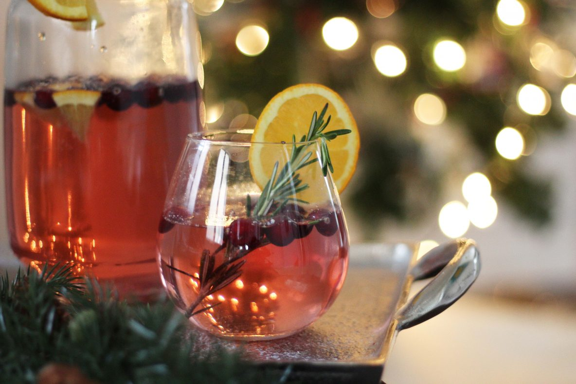 Holiday cocktail recipes with sodastream sparkleshinylove for Cocktail drinks without alcohol