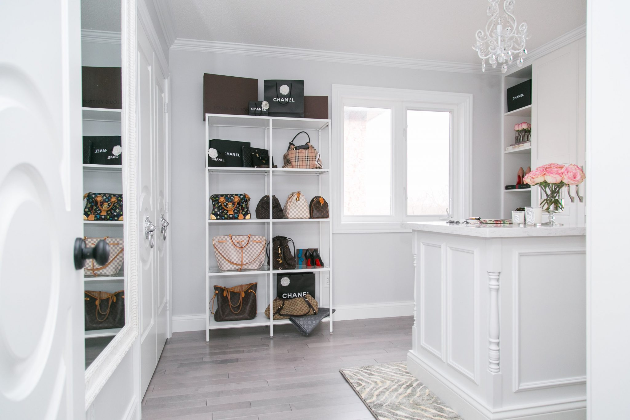 My Dream Walk-In Closet Reveal sparkelshinylove