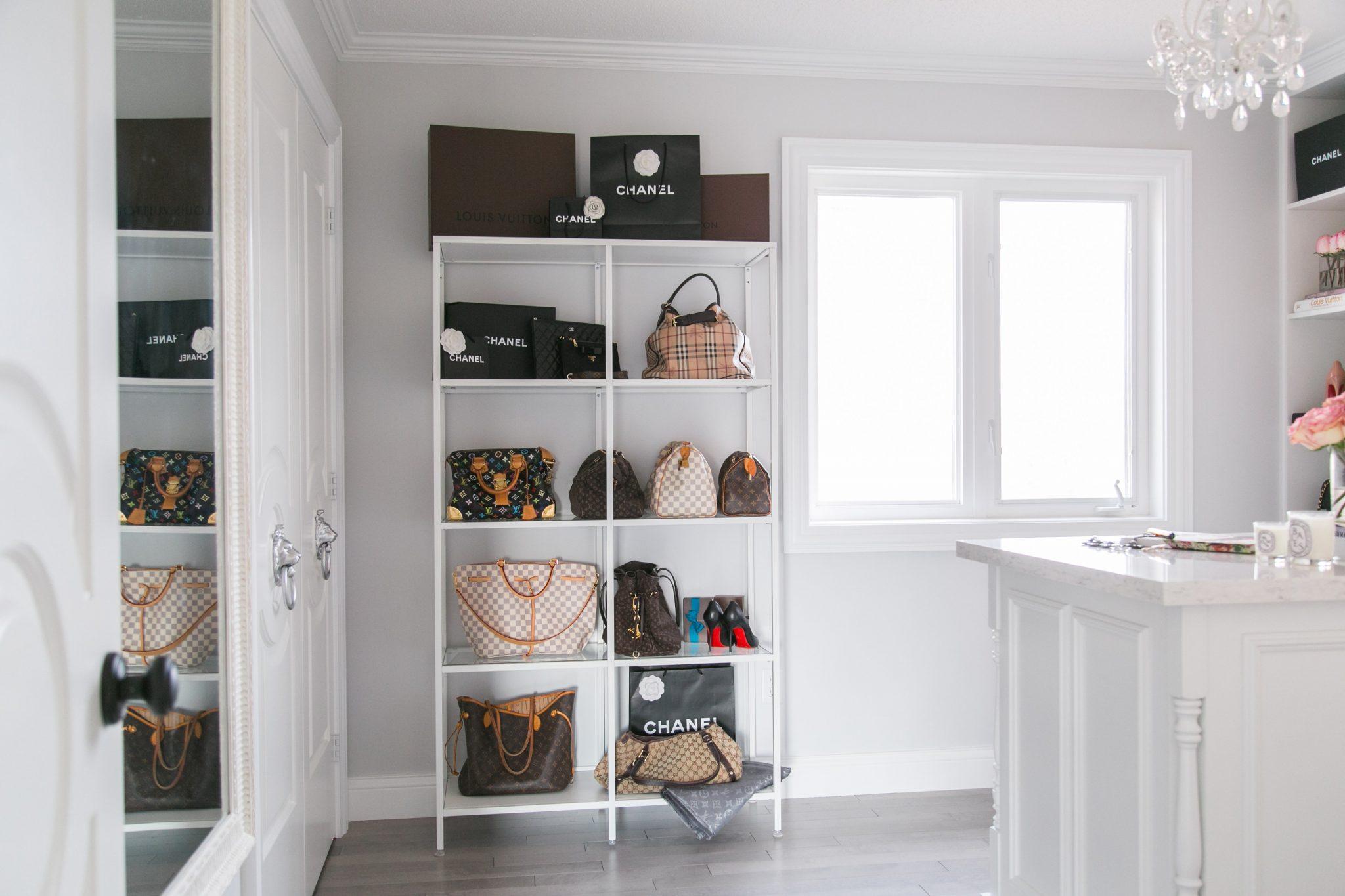 My Dream Walk-In Closet Reveal - sparkleshinylove
