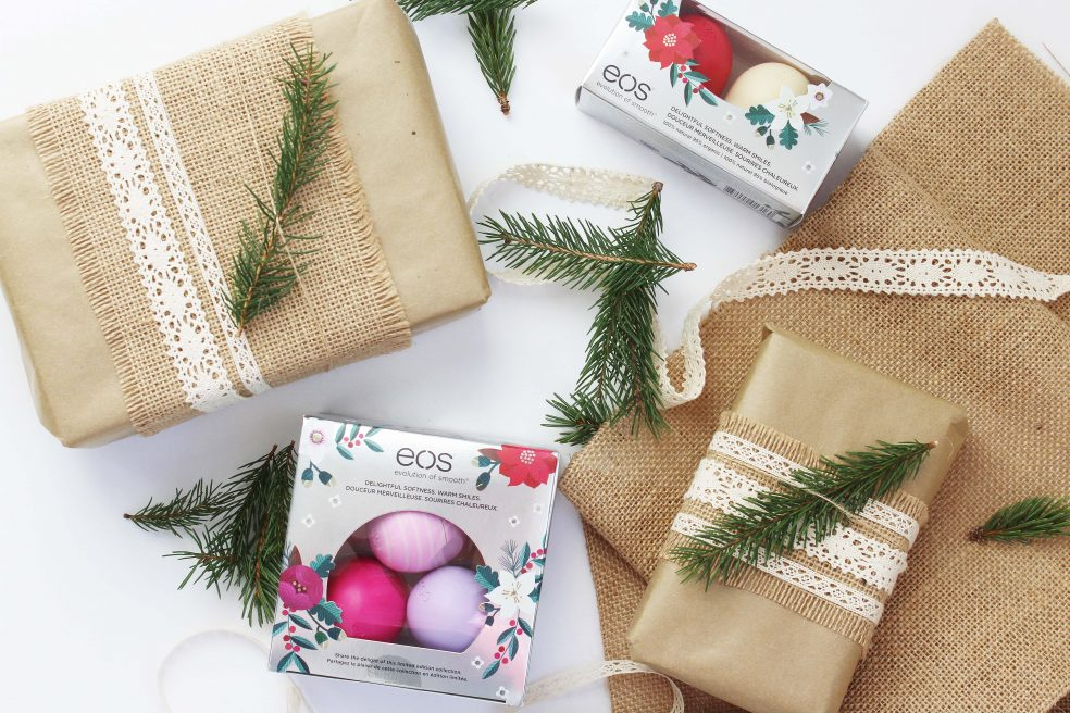 Holiday Gift giving with eos