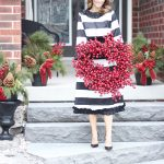 The Claire Dress Black and Cream Dainty Jewells