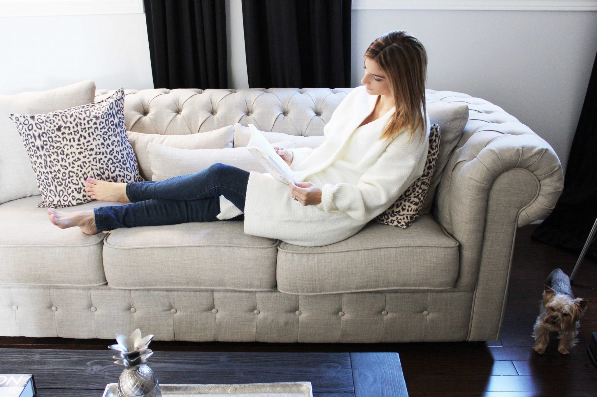 Decorating My Living Room with Wayfair Canada - sparkleshinylove