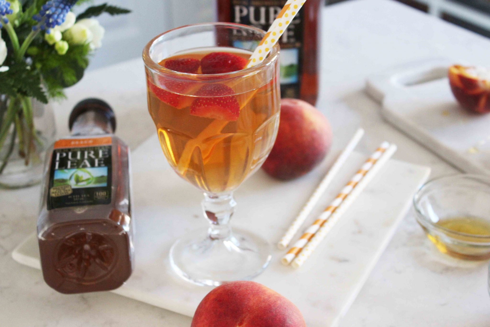 Pure Leaf Peach Tea Cocktails