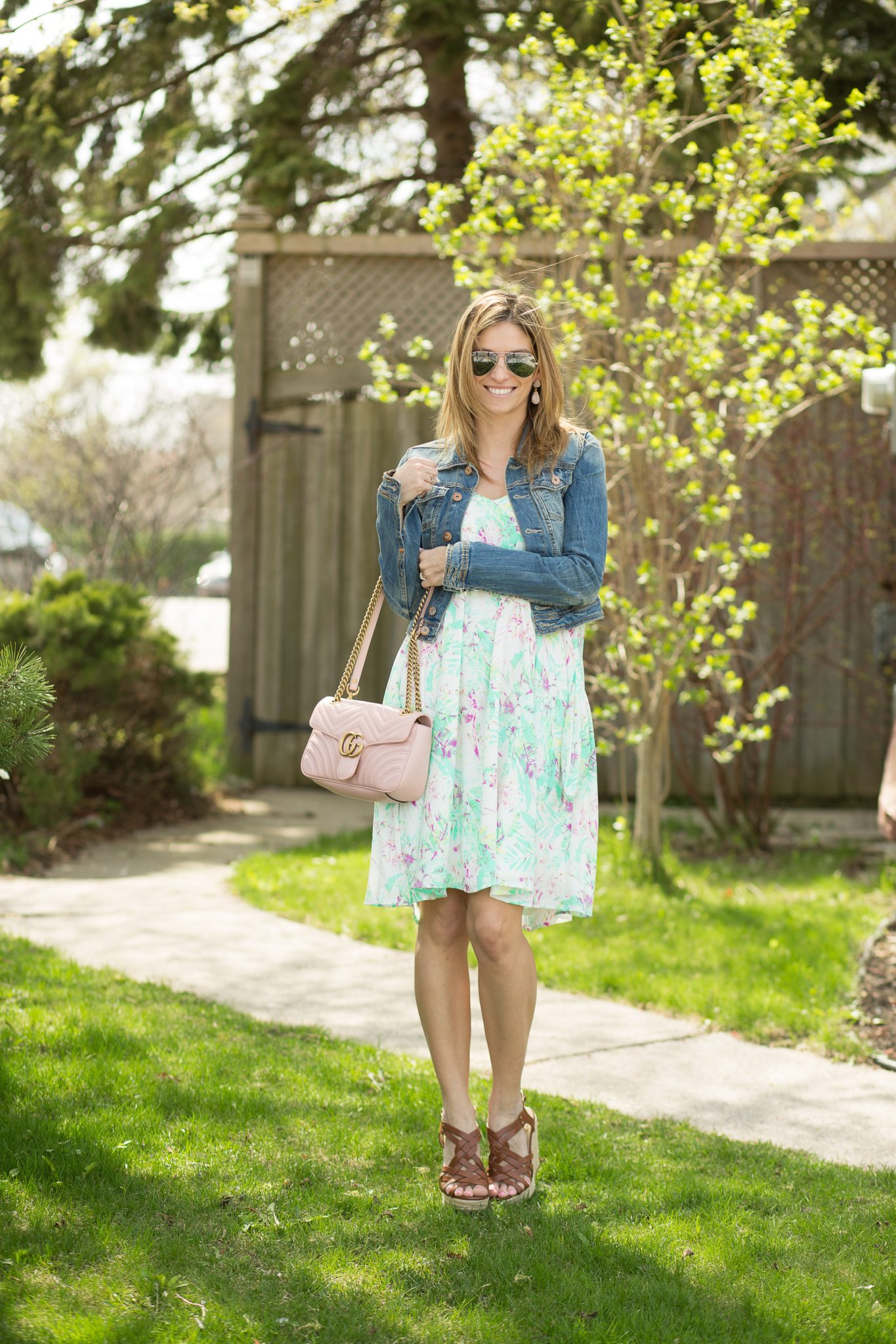 How to style a pink medium Pink small gucci matelasse