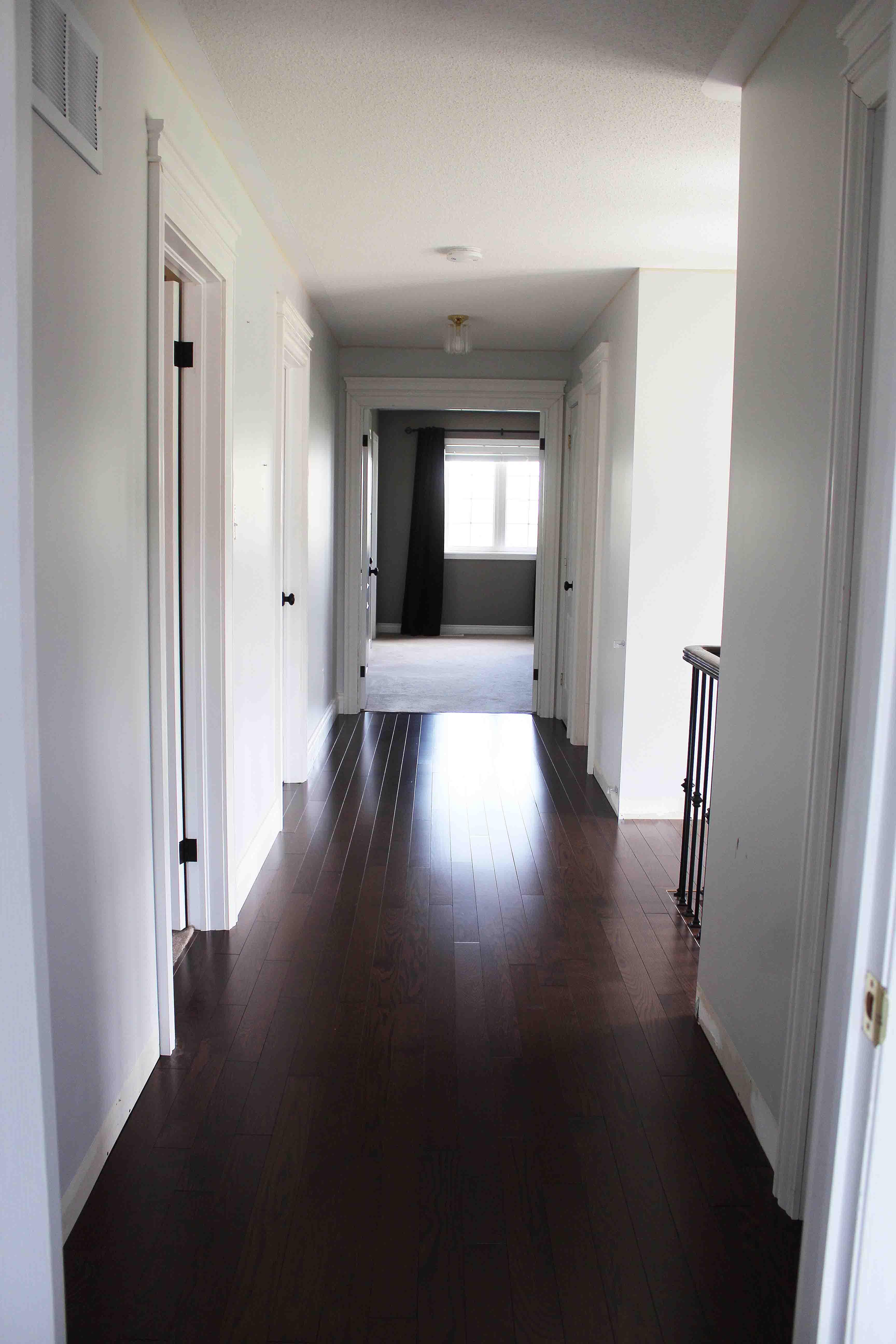 sparkleshinylove Hallway makeover update Metrie