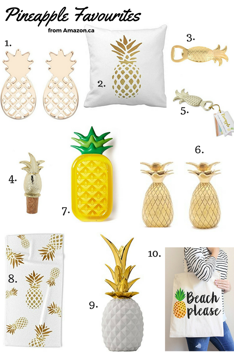 Best Amazon Pineapple Decor sparkleshinylove