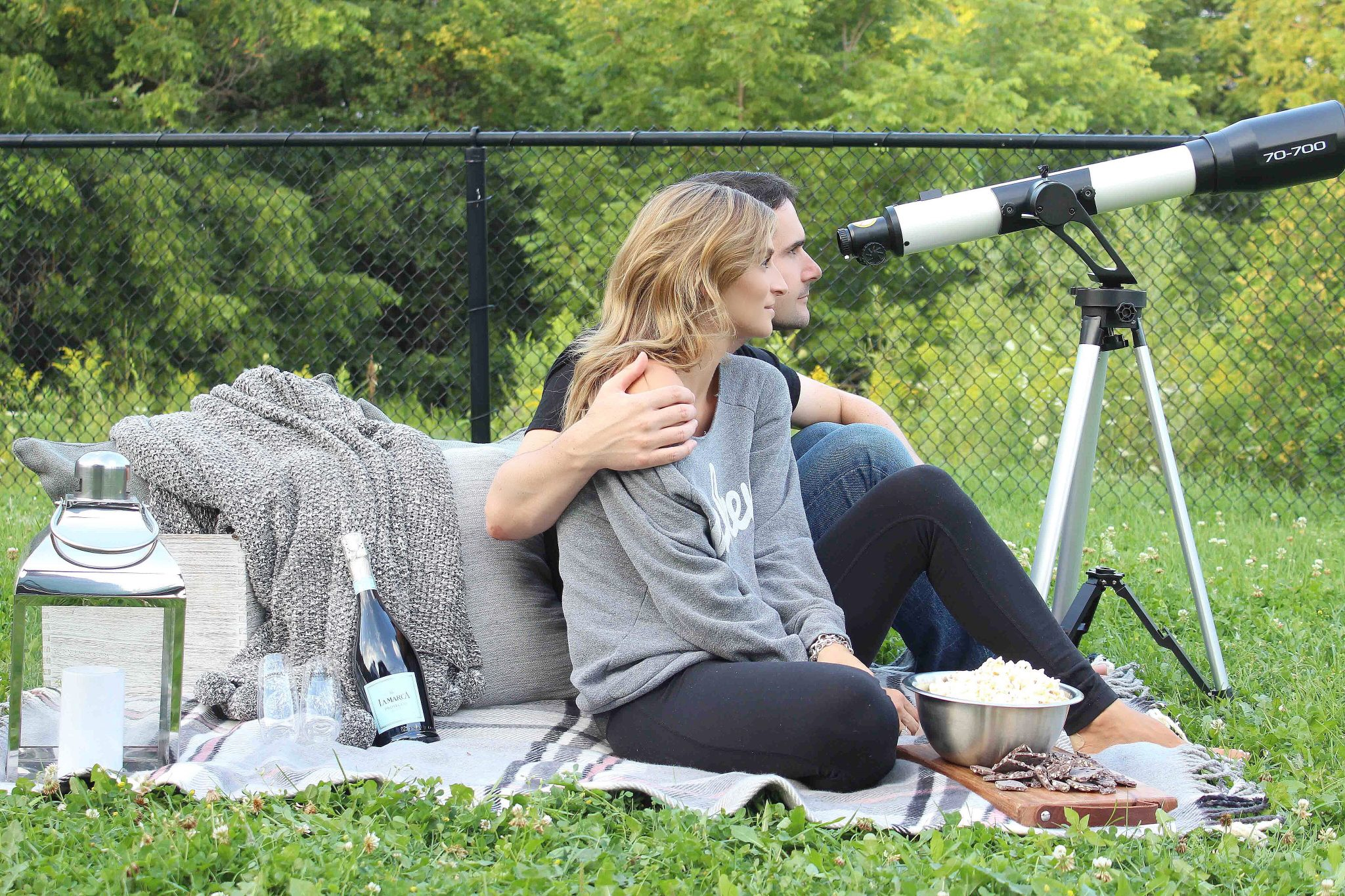 La Marca Prosecco date night star gazing