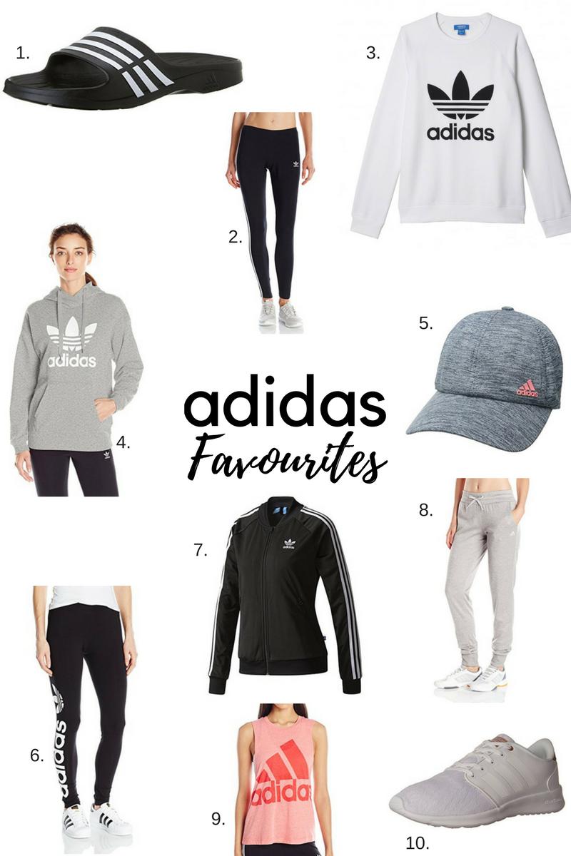 adidas favourites from Amazon sparkleshinylove