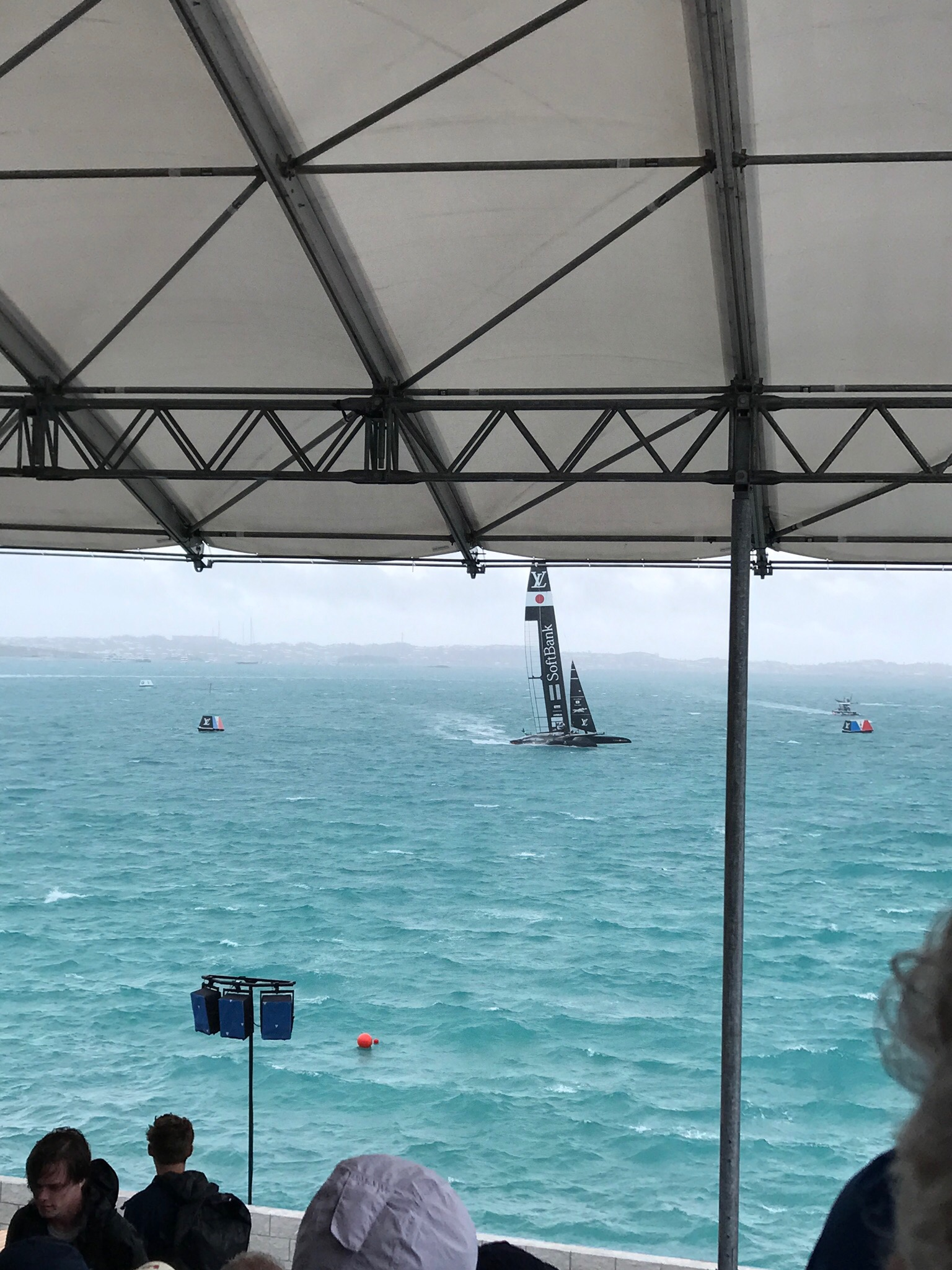 America's Cup Bermuda Grand Stand Seating View