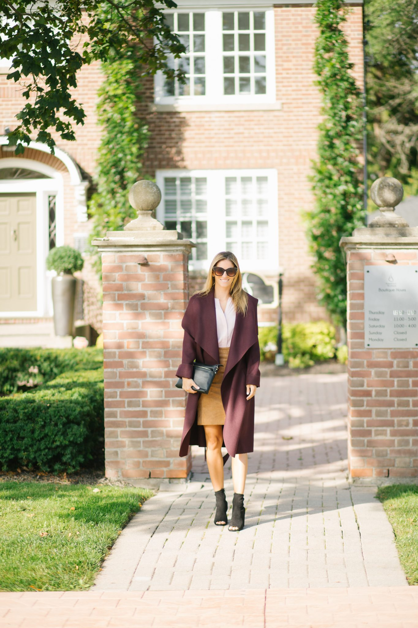 Le ChateauCashmere-Like Belted Wrap Coat sparkleshinylove