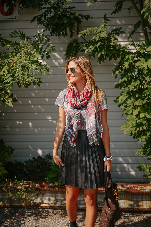 nordstrom plaid scarf B.p